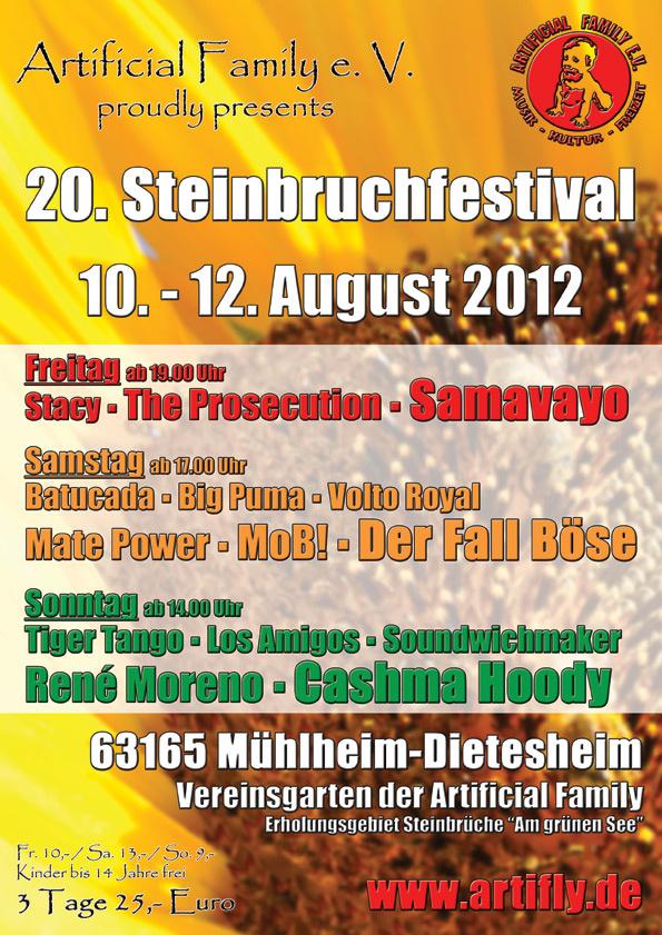 20. Steinbruchfestival 2012
