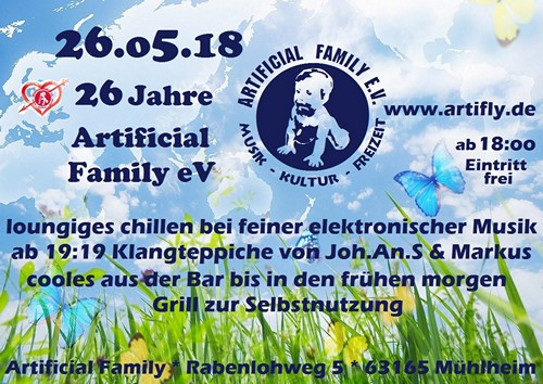 26 Jahre Artificial Family